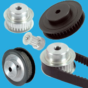 Pulleys, belts (transmission)