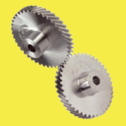 Crossed helical gear axes crossed 90°