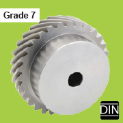 Precision helical gears