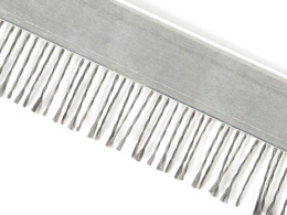 Antistatic brush - Standard - Twisted steel bristles -