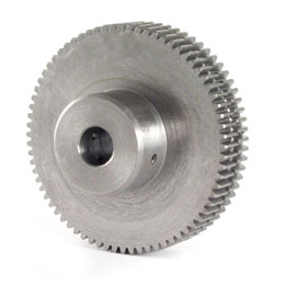 Anti-backlash spur gear - Stainless steel 303 - 1.00 -