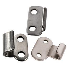 Crochet pour grenouillère - 12, 13, 18 et 20mm - acier -
