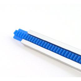 Plastic flexible rack - Rack fixing rail - Aluminium - 1000mm