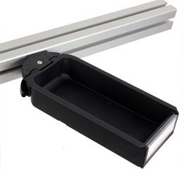 Storage bin - Storage bin - 8 and 10 mm - Black