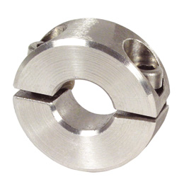 Shaft collar - Stainless steel - 2 elements - Budget