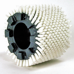 Modular cylindrical brush - PBT polyester bristles - For transport -