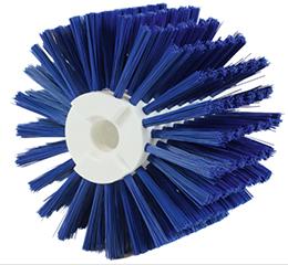 Modular cylindrical brush - PBT polyester bristles - Washing -