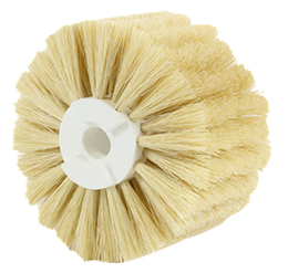 Modular cylindrical brush - Tampico bristles - Dusting - Use in damp environments