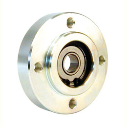 Radial bearing housing - Bearing fitted with circlips - Round -