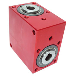 Right angled gearbox - up to 30 Nm - bored shaft - 3000rpm