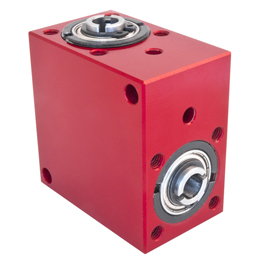Right angled gearbox - up to 4.4 Nm - bored shaft - 4000rpm