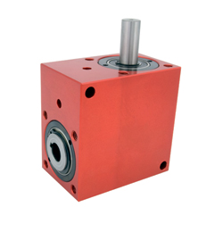 Right angled gearbox - up to 30 Nm - 1 bored shaft/1 solid shaft - 4000rpm