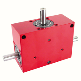 Right angled gearbox - up to 70 Nm - double output shafts - 3000rpm