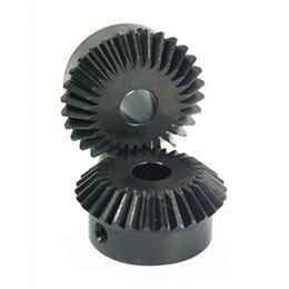 Bevel gear - Steel 60C40 - 2:1 - 1.00 -