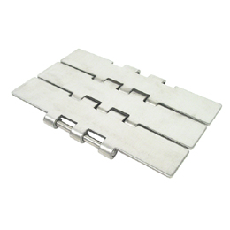 Plate chain - Large range 805 - Stainless steel -