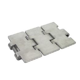 Plate chain - Narrow range 815 - Stainless steel -