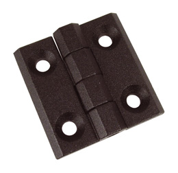 Screw-in hinge - Section 40X40 - Close-fitting -