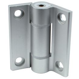 Charnière - A friction réglable - Aluminium -