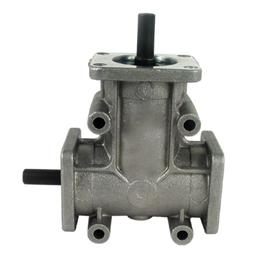 Réducteur à renvoi d'angle en L ou T - Jusqu'à 87,3 Nm - Ø19 -