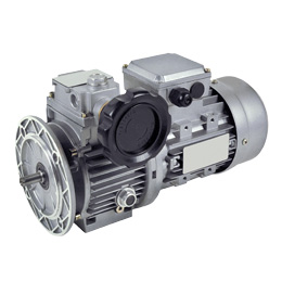 Mechanical motor drive - from 0,18 to 1,5kW - 4 pole motor, 1,400 RPM 230/400V - 1:5