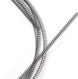 Compression spring : per metre - Stainless steel -