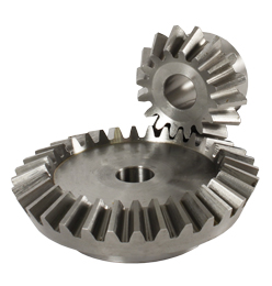 Bevel gear - Steel C43 - 2:1 - 1 to 5 -