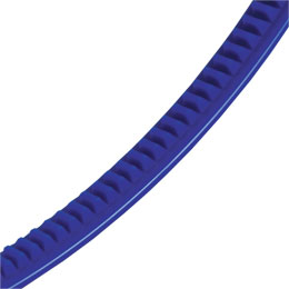 Cremagliera flessibile plastica - Cremagliera - 2000mm - 150mm