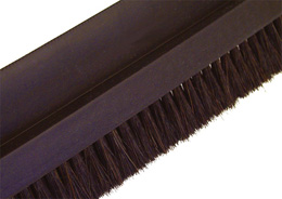Brosse au mètre - Polypropylène noir strié (PP) - Moyenne - 5m