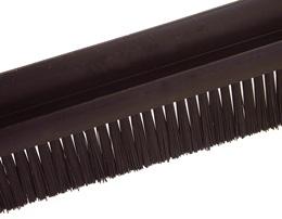 Brosse au mètre - Polyamide 6 noir - petite taille - 5m -