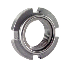 Roulement - accessoires : Ecrou autofreiné - rondelle inox - Freinage -