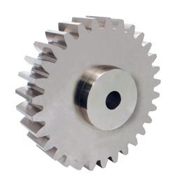 Spur gear : Steel C45 - 2.50 - Economy range