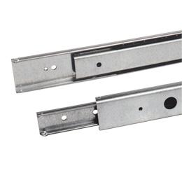 Glissière télescopique - A extension partielle - 35kg maxi - 2 rails