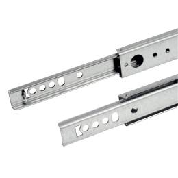 Telescopic slide rule - Partial extension - 15kg max - 2 rails