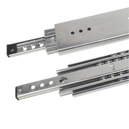 Glissière télescopique - A extension intégrale - 200kg maxi - 3 rails