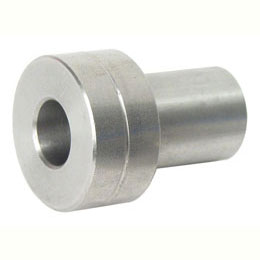Half-rail guide - Adjustment bushing - Stainless steel concentric bushing -