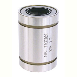 Linear bearing - Precision - steel - Closed - Steel / Polyamid