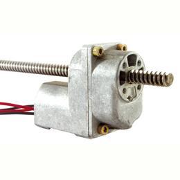 Linear motorised operator - 2 Amperes - Trapezoidal -