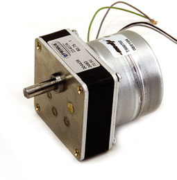 Synchronous AC Motor and gearbox combination - from 1.3 to 6Nm - de 0.5 à 31 - 230V