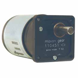DC Motor and gearbox combination - from 0,075 to 0,6Nm - 12 V DC -