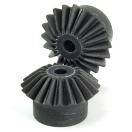 Moulded plastic bevel gear (nylon) - 1:1 - 3.00 - Economy range