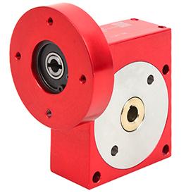 Réducteur à roue et vis sans fin - jusqu'à 164 Nm - flasque - PF