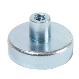 Aimant - Plot magnétique - Aimant plat avec trou taraudé - NdFeB -