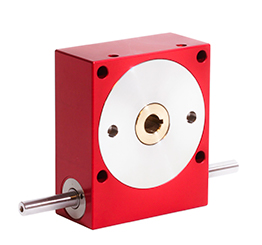 Worm and wheel gearbox - up to 118 Nm - shaft - P