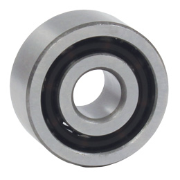 Double row ball bearings - Angular contact - Steel -  -