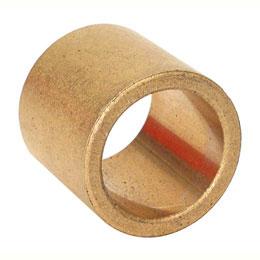 Coussinet - Bronze auto-lubrifiant OILITE - Sans collerette - Anglaise