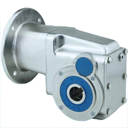 Hypoid gearbox - Stainless steel - fino a 350 Nm - RFK - 7.5:1 a 60:1