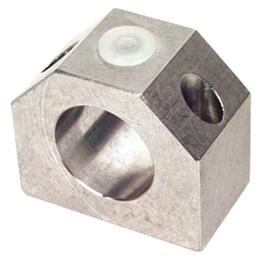 Housing for linear bearing - Closed - light load - Aluminium -