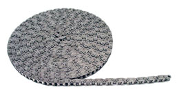 Chain per metre - Stainless steel - 9.52 à 19.05mm (DIN 8187) -