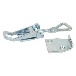 Adjustable latch clamp with catch-plate - Stroke from 106,7mm to 121,4mm -  -