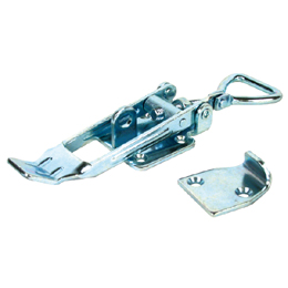 Adjustable latch clamp with catch-plate - Stroke from 174mm to 190mm -  -